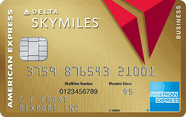 Gold Delta SkyMiles Card American Express OPEN