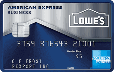 Lowe s Business Rewards Credit Card American Express