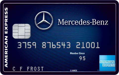 The mercedes benz credit card from american express earn for Mercedes benz credit