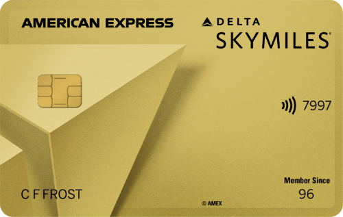 Gold Delta Skymiles 174 Credit Card From American Express