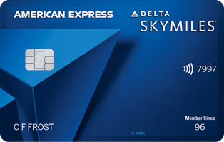 Blue Delta Credit Card