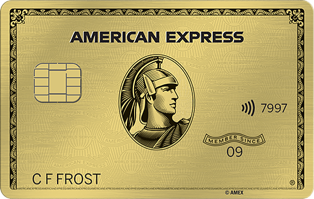 American Express Gold Card Earn