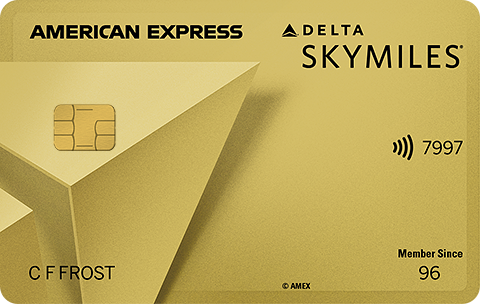 Gold Delta SkyMiles<sup>®</sup> Credit Card