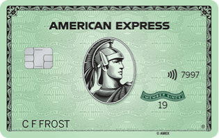 American Express Green Card Earn Rewards Points