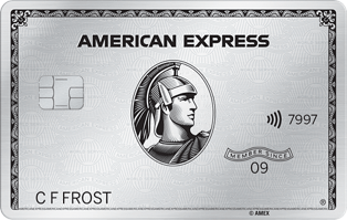 Platinum Card from American Express<sup>®</sup>