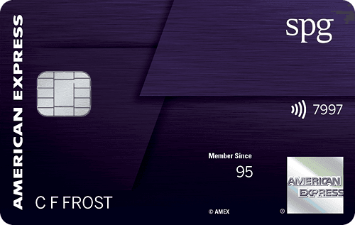 SPG® Amex Luxury Card