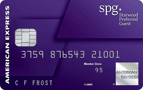 The Starwood Preferred Guest<sup>®</sup> Credit Card