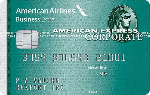 American Express AA Business Extra Corporate Card