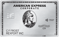 Corporate Platinum Card<sup>&#174;</sup>