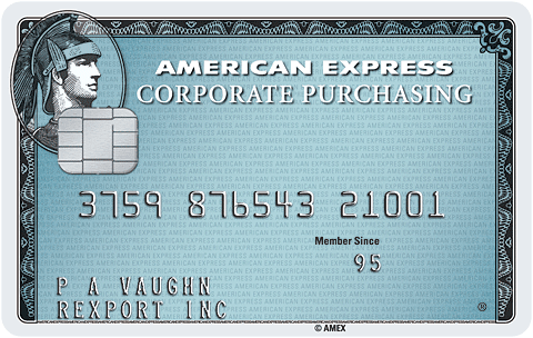 American Express Corporate Purchasing Card