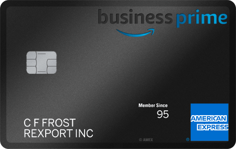 Amazon Business Prime Card