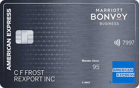 Marriott Bonvoy Business<sup>TM</sup> American Express<sup>®</sup> Card
