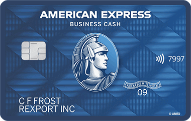 Blue Business Cash<sup>TM</sup> Card