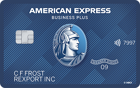 Blue Business<sup>SM</sup> Plus Credit Card from American Express