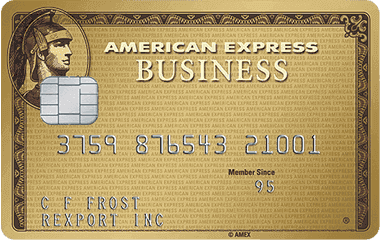 The Business Gold Rewards Card from American Express