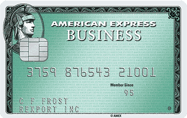 Business Green Rewards Card