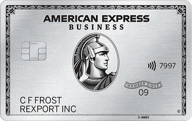 The Business Platinum Card<sup>&#174;</sup> from American Express