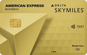 Gold delta skymiles business credit card from american express open gold delta skymilessup174sup business credit reheart Images