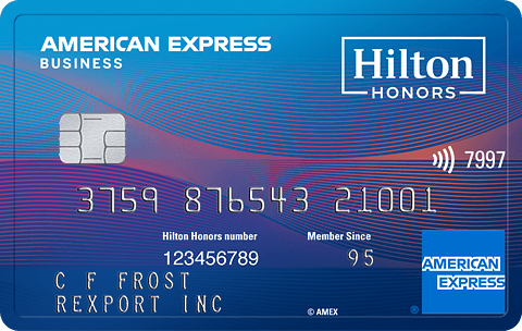 hilton honors american express business card - American Express Business Credit Card