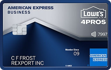 lowes business rewards card from american express - American Express Business Credit Card