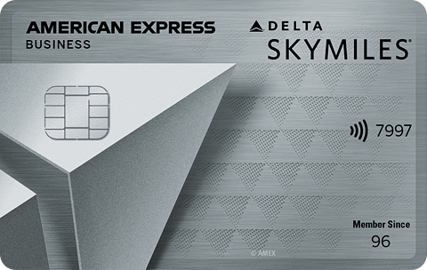 Platinum Delta Skymiles Business Credit Card From American