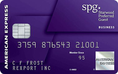 Starwood Preferred Guest<sup>®</sup> Business Credit Card