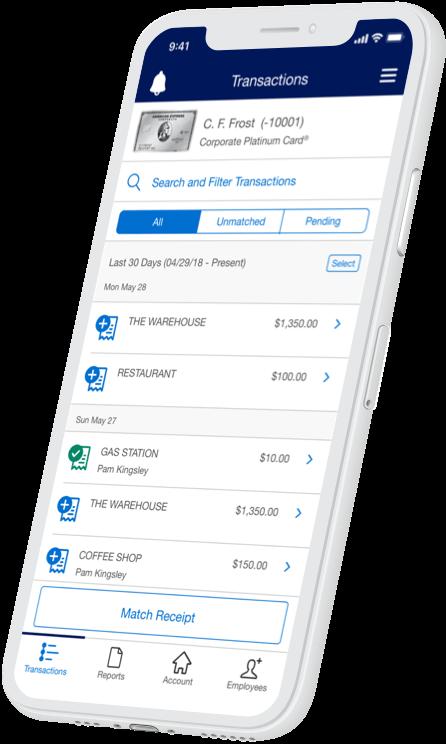 American Express Business App