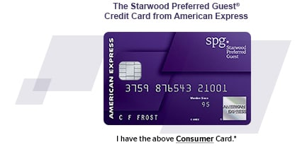 The Starwood Preferred Guest(R) Credit Card from American Express. I have the above Consumer Card.