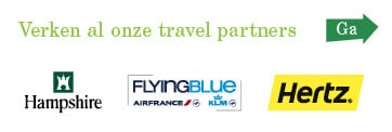 Verken al onze travel partners