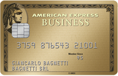 Carta Oro Business American Express