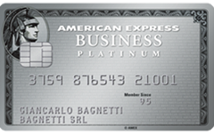 Carta Platino Business American Express