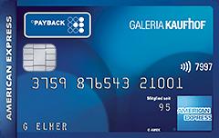 Die PAYBACK GALERIA Kaufhof Karte