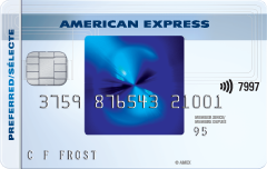The SimplyCashTM Preferred Card from American Express