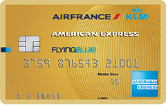 Flying Blue - American Express Gold Card