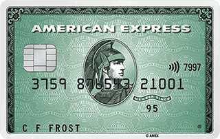 Green Card  Grüne Kreditkarte  American Express AT