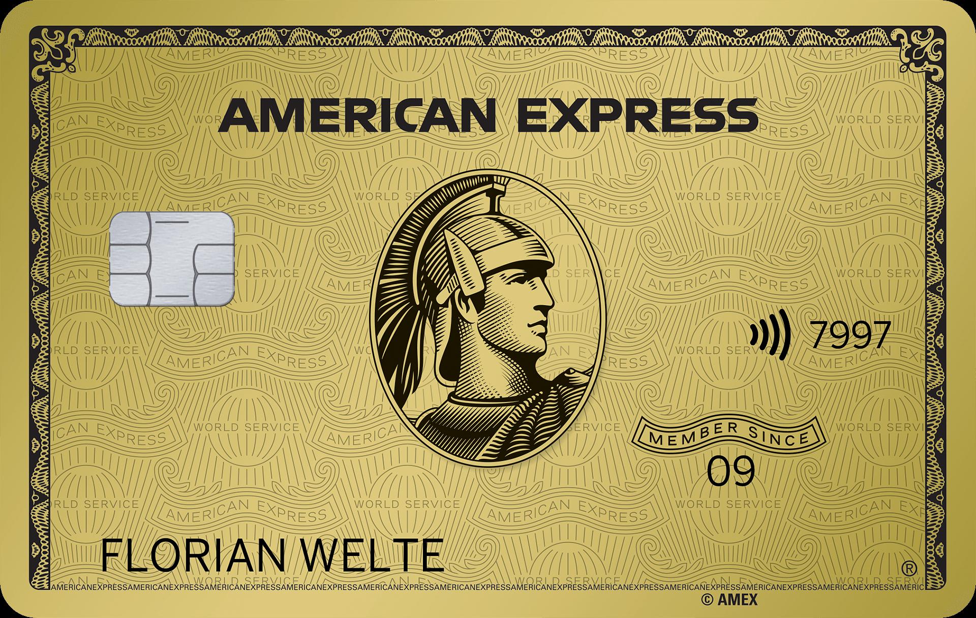 Alle Kreditkarten American Express
