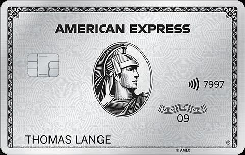 American Express Platinum Card beantragen American Express