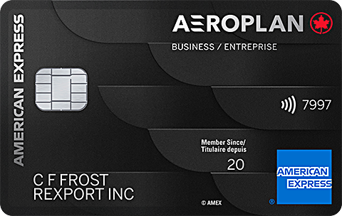 American&nbsp;Express<sup>®</sup> Aeroplan<sup>®*</sup> Business Reserve Card