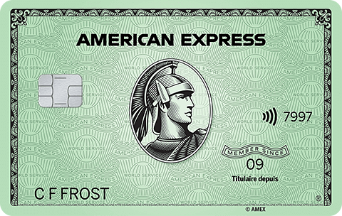 American&nbsp;Express<sup>®</sup><br>Green Card