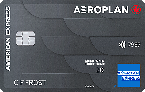 Apply now for the Aeroplan<sup>®*</sup> Card and get a response in 60 seconds.