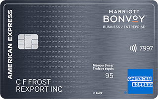 Marriott Bonvoy<sup>TM</sup> Business American Express<sup>®</sup> Card
