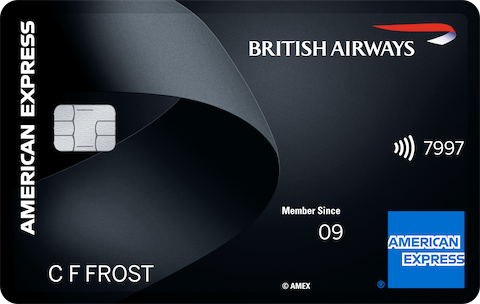 British Airways American&nbsp;Express<sup>®</sup> Premium Plus Card