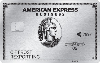The American Express® Business Platinum Card