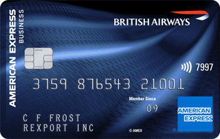 British Airways American&nbsp;Express<sup>®</sup> Accelerating Business Card