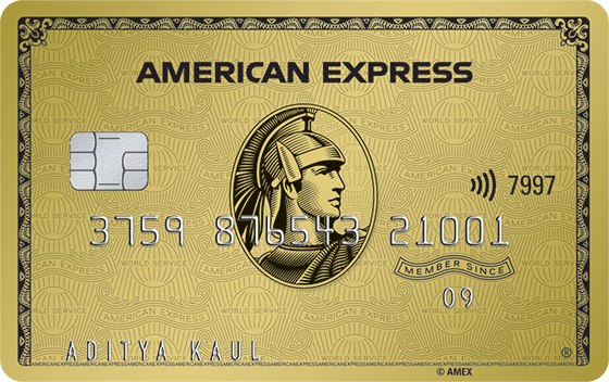 American Express Gold Credit Card  Amex Gold Charge Card