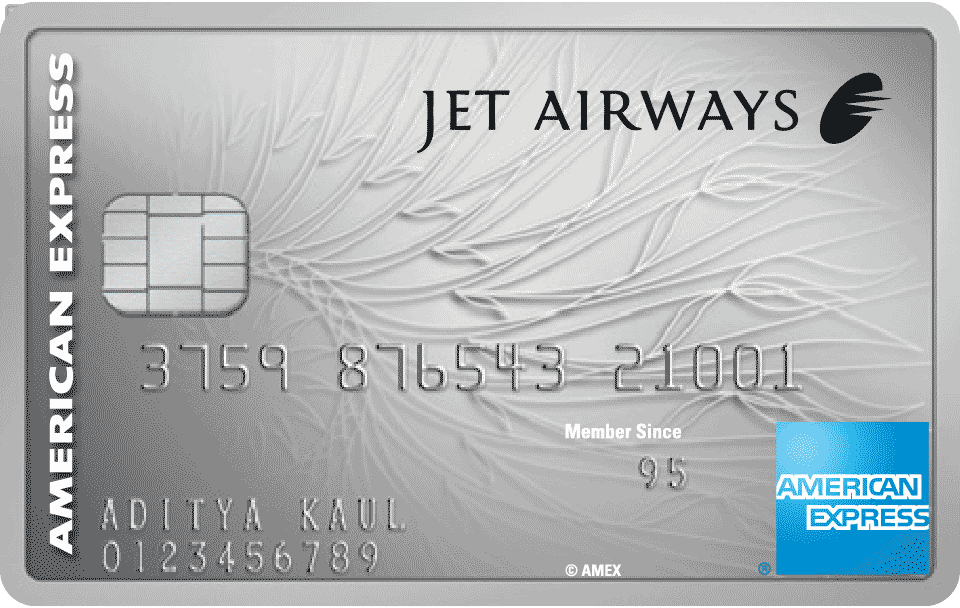 Jet Airways Platinum Credit Card American Express India