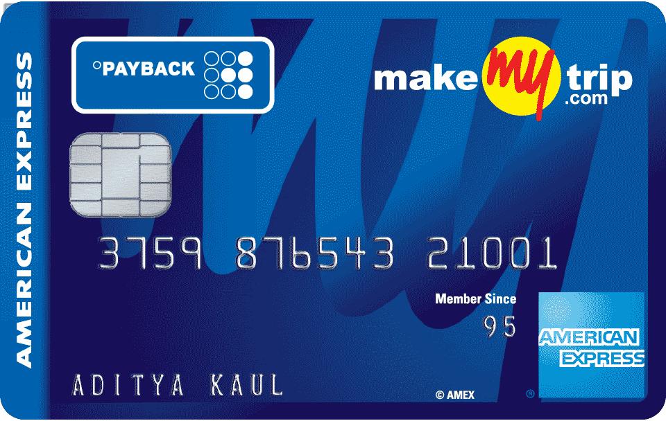 Makemytrip Card American Express India