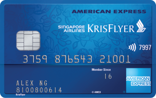 The American Express Singapore Airlines Krisflyer Credit Card