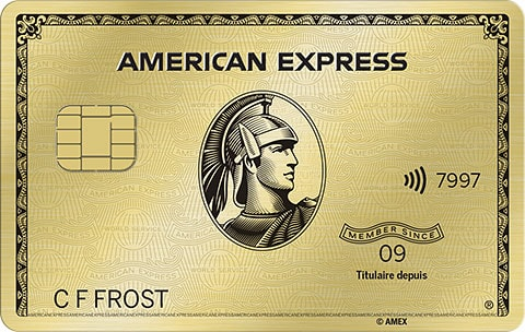 La Carte Or avec primes American&nbsp;Express<sup>MD</sup>