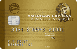 Carte en Or entreprise AIR&nbsp;MILES<sup>MD*</sup> American&nbsp;Express<sup>MD</sup>
